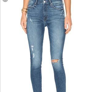 MOTHER DENIM - High Waisted Looker Jeans, 28